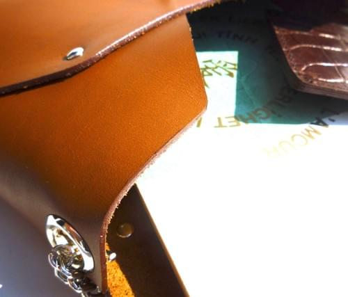 Ensemble Pliage 4 pièces caramel