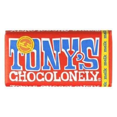 180 gram - Tony chocolonely - Melk