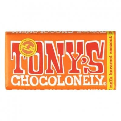 Tony Chocolonely - Melk karamel zeezout - 180 gram