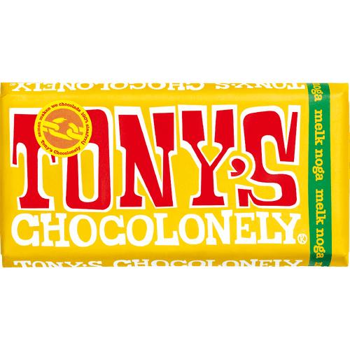 180 gram - Tony Chocolonely - Melk Noga