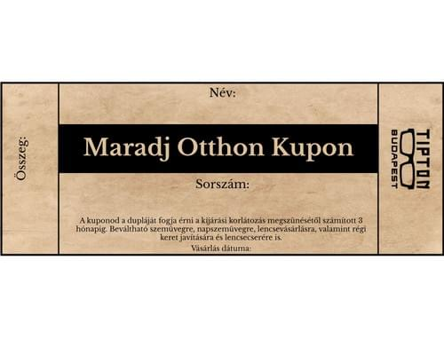 Maradj Otthon Kupon Stay at Home Coupon