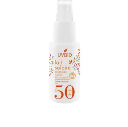 Lait solaire SPF 50 Bio 50ml ou 100 ml - UV Bio