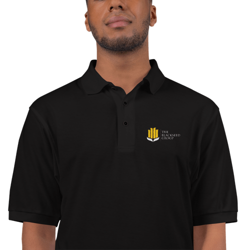 The BlackSeed Group Polo (Comes in 5 colors - Click pic to view)