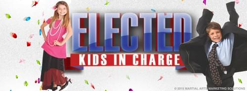 ELECTED!  Kids in Charge DAY CAMP