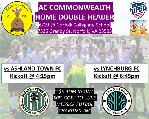 AC Commonwealth Matchday 12 Admission