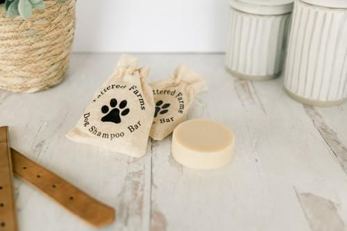 Goat Milk Dog Shampoo Bar