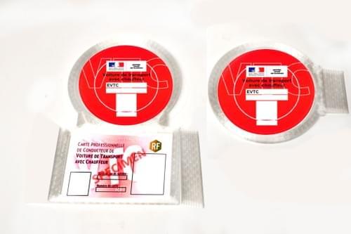 Nouvelle Carte + Porte macaron - Avant/Arrière