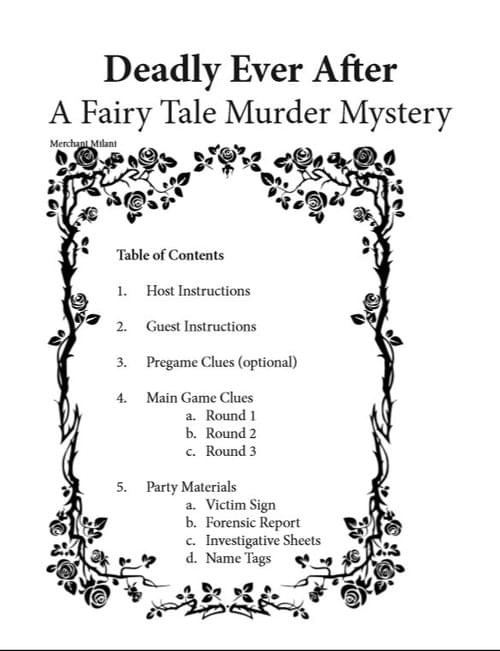 Deadly Ever After A Fairy Tale Murder Mystery