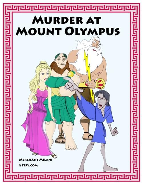 Murder at Mount Olympus: A Mythological Murder Mystery Party Kit