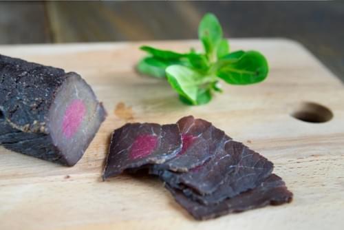 Maigre de bœuf du Limousin fumé séché, demi-sec (200g mini)
