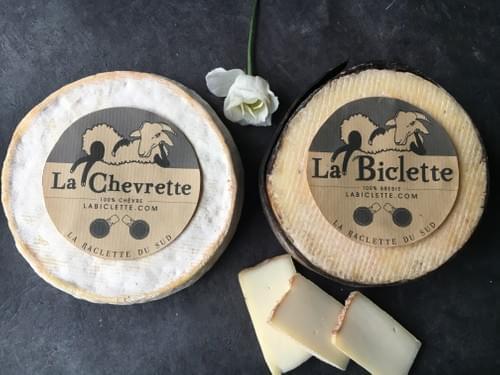 Une Biclette (env. 550g) + une Chevrette (env. 550g)