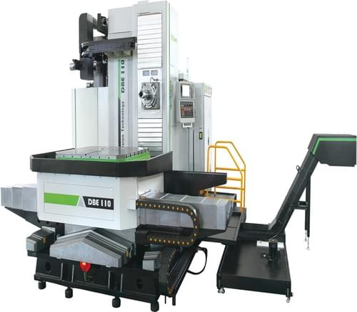 5axis cross slide table cnc horizontal Boring milling machine center