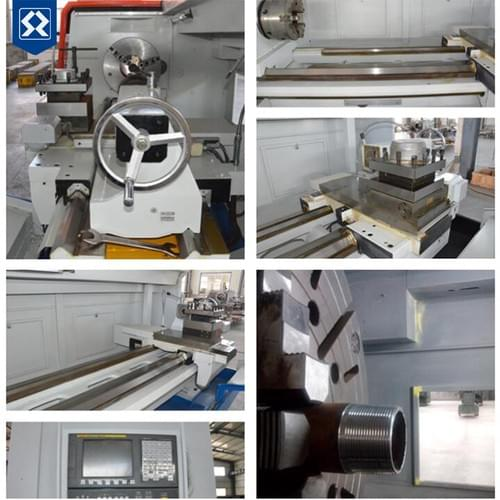 Heavy duty lathe machines and large diameter lathe machine
