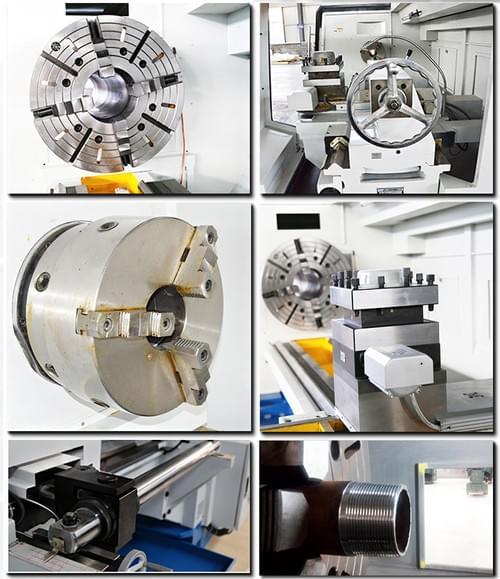 Professional Metal Pipe Threading Lathe Machine_Pipe Screw-cutting Lathe