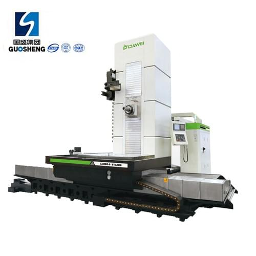 Machining metal molds accessories cnc horizontal boring milling machine