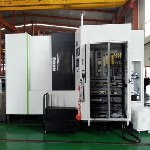 DHM50B Double Worktable CNC Horizontal Machining Center with CE Certification