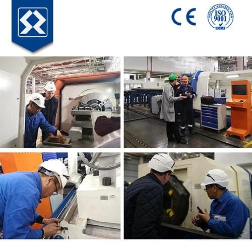High Speed CNC Pipe Thread Cutting Lathe