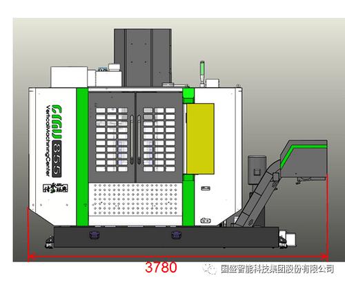 Super Cost-effective Vertical Machining Center CNC Milling Machine