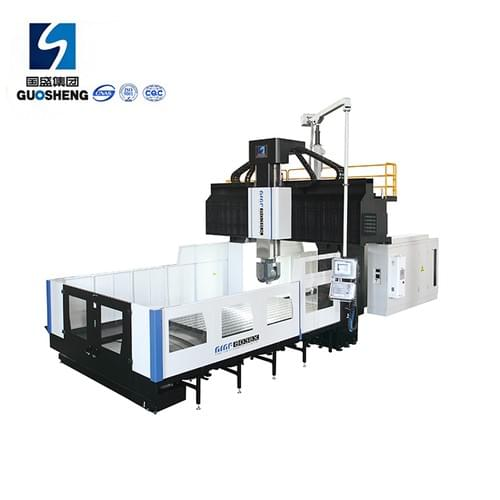 GMF8038X 5 axis double column cnc large gantry milling machine Center