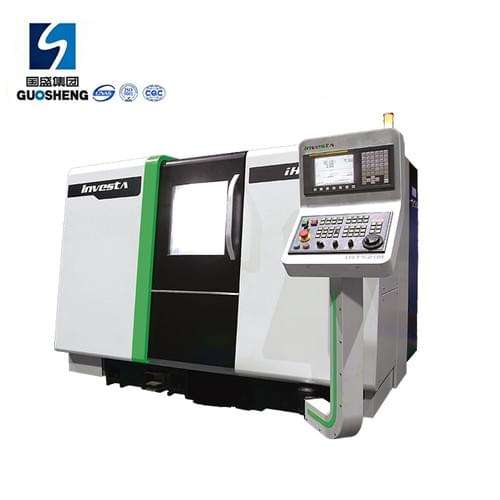 New Design CNC Slant bed lathe machine with FANUC controller IHT516