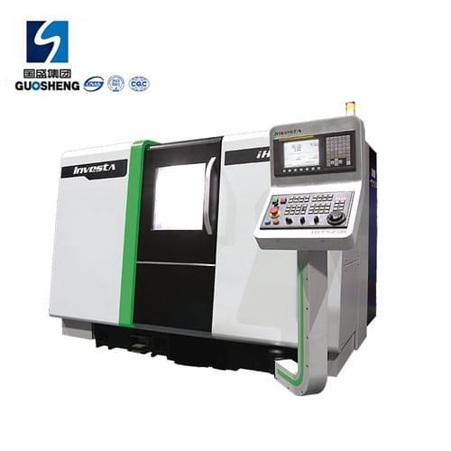 New Design CNC Slant bed lathe machine with FANUC controller IHT516