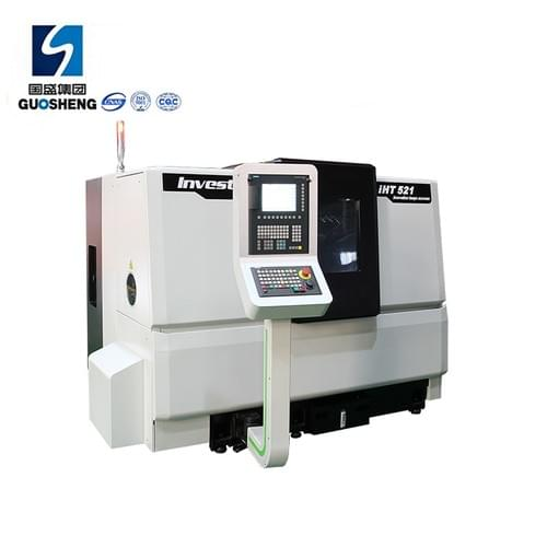 High-precision slant bed cnc lathe machine for metal workpiece IHT521