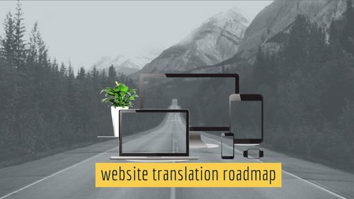Website Translation Roadmap Online event