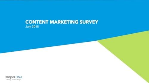 Content Marketing Survey 2018