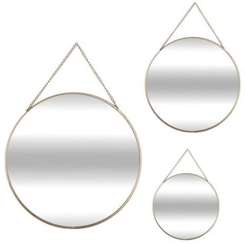 Le lot de 3 miroirs