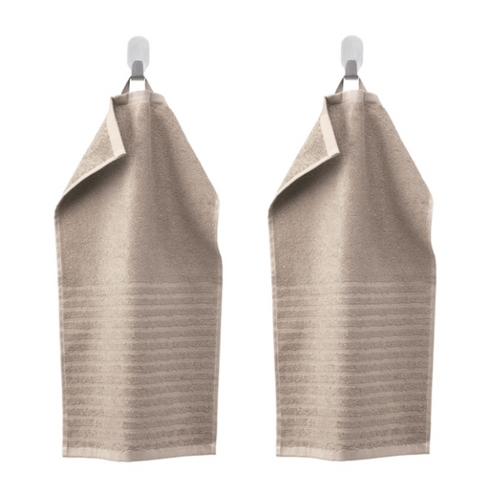 Les 2 essuie-mains