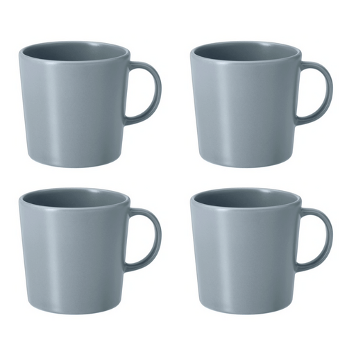 Le lot de 4 mugs