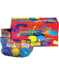 Clay Color Smoke Balls - World Class Fireworks