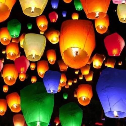 Lantern (Assorted Colors)
