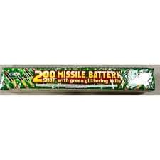 200 Shot Green Glitter Large Saturn Missile