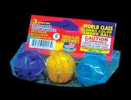 Jumbo Color Smoke Ball - World Class Fireworks
