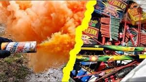 Orange Smoke - Big Fireworks