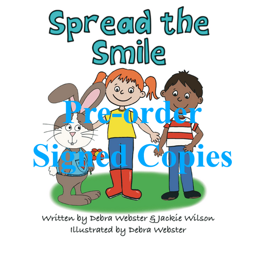 Spread the Smile book - pre-order signed copies