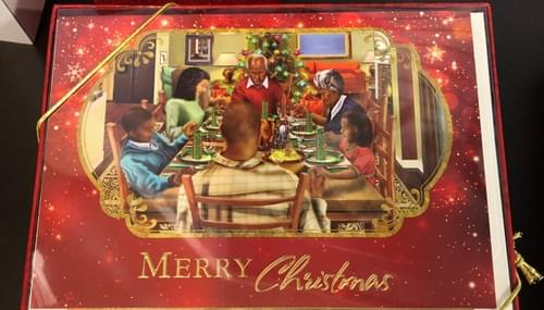 Merry Christmas Dinner Christmas Cards