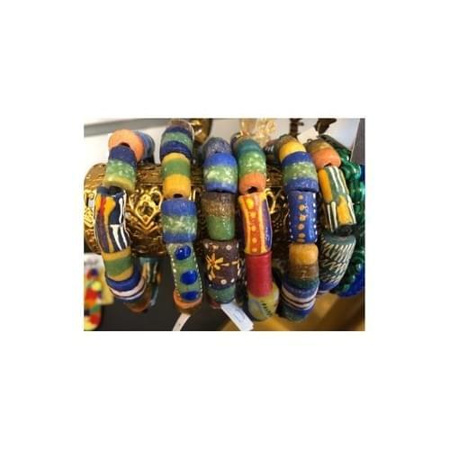 Ghana trade bead bracelett