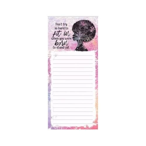 Born to Stand Out Magnetic Notepad