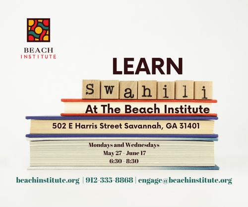 Swahili Lessons May 27 - June 17