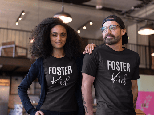 Foster Kid Unisex T-Shirt - Every Shirt Buys a Book For A Foster Kid! ** FREE SHIPPING!**