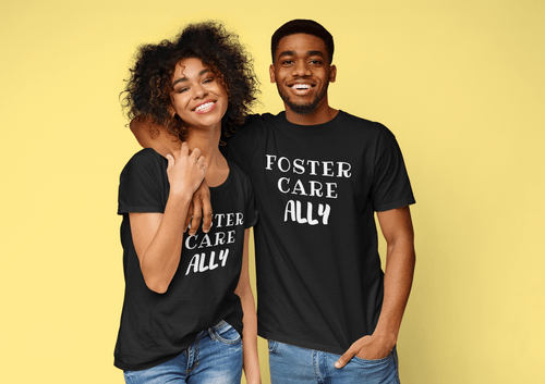 Foster Kids Ally Unisex T-Shirt - Every Shirt Buys a Book For A Foster Kid! ** FREE SHIPPING!**
