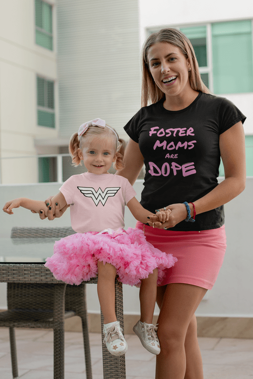 Foster Moms Are Dope Unisex T-Shirt - Limited Edition - Every Shirt Buys a Book For A Foster Kid! **
