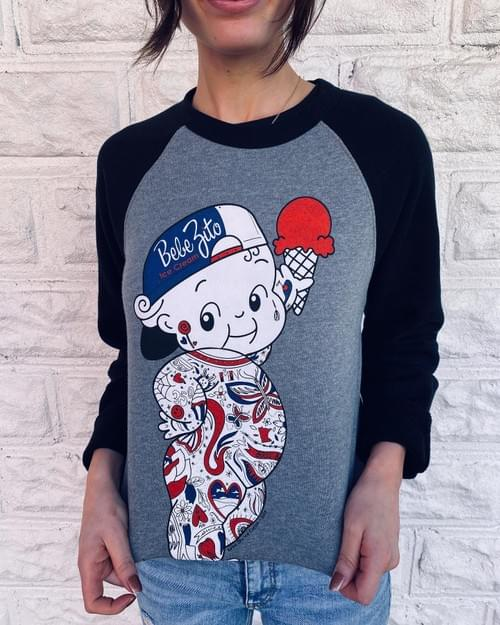 Bebe Crew Neck Sweatshirt