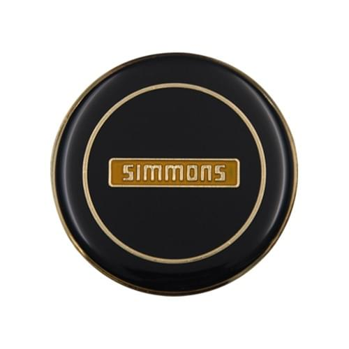 WHEEL CAP SIMMONSOD 62mm GOLD  REPLACEMENT ONLY