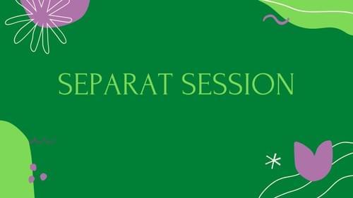 Separat session
