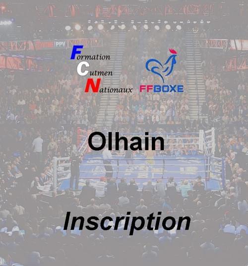Inscription complète - Session 06 & 07 novembre 2021 - Olhain