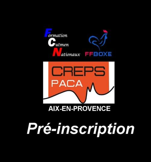 Pré-inscription- Session 28 & 29 Novembre 2020 - Aix-en-Provence