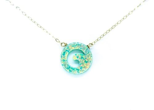 Nalu Wave Necklace
